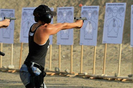 venice beach firearms trining